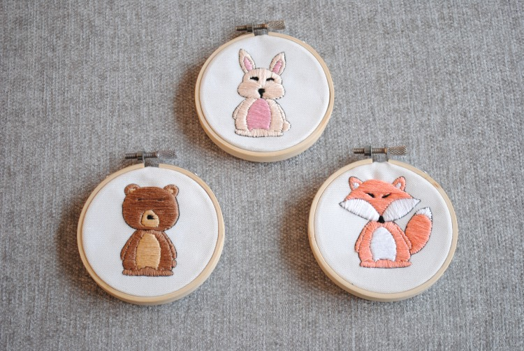 Forest Animal Hoops 2
