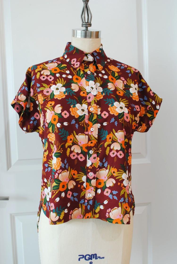 Floral Kalle Shirt 1