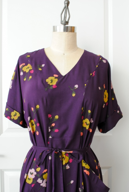 Rayon Teahouse Dress 9